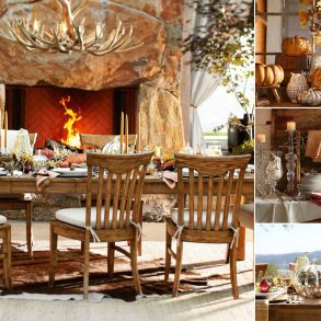 Decor rustic de sezon