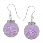 cercei_argint-sticla_boemia-violet