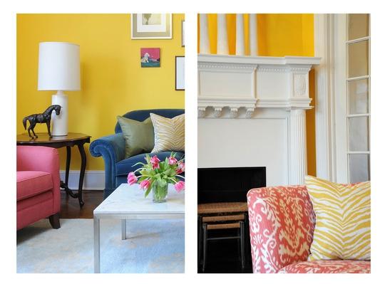 Un living colorat si elegant fastimo for Living elegante